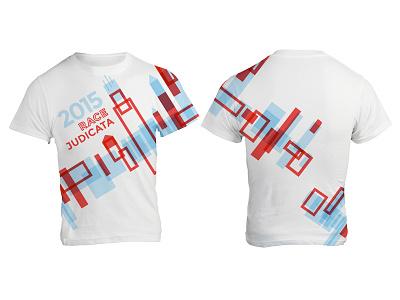 Race Judicata Shirt typography geometry chicago apparel