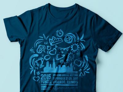 2015 Fun Run Walk icon run desig illustration t-shirt