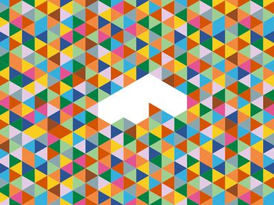 F-tastic triangle colors logo