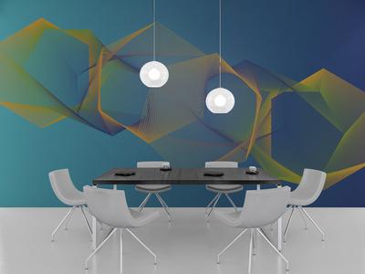 Pattern Design shapes gradient pattern publication design