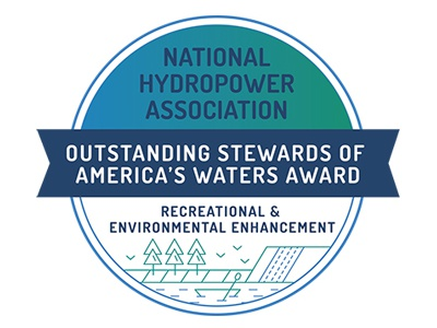 Osaw Recreational And Environmental Enhancement Logo water environment recreation badge logo