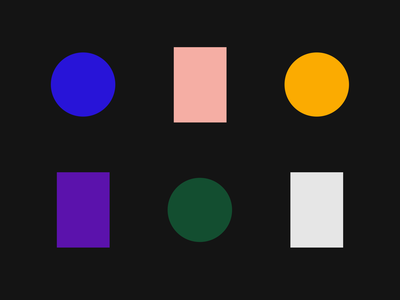 Color Study palette simple fashion modern bold theory color