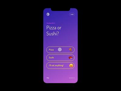 Onboarding Concept emoji app mobile minimal brand gradient concept rewards onboarding