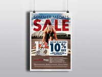Powerhouse Fitness Promotional Posters