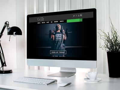 The Club Gym Responsive Website html development logo design design wordpress responsive