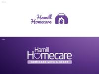Hamill Homecare Rebrand