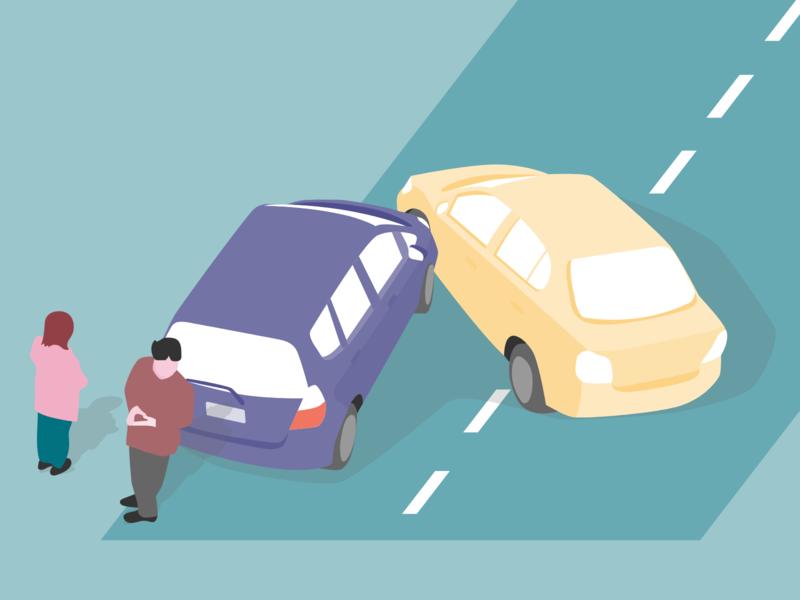 AXA Motor Insurance switch motor ux ui masthead car accident html development illustrator vector