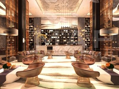 3D interior design commercial