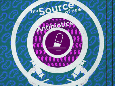 Source of Antibiotics Poster antibiotics science poster
