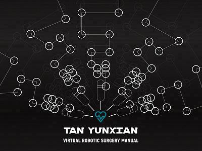 Virtual Robotic Surgery Poster graphic future tech poster motion graphics