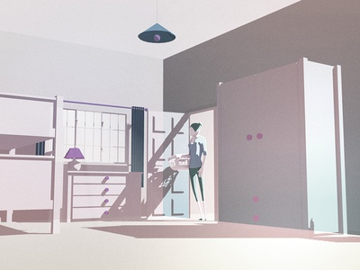 G3architecture Bedroom home artdirection lighting environment design animation