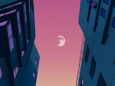 A calm night in the city
