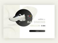 UI Raf Simons x Adidas Concept
