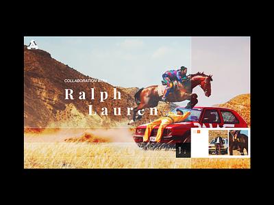Ralph x Palace Webshot Concept palace ralph lauren ralph webshot website clothing fashion