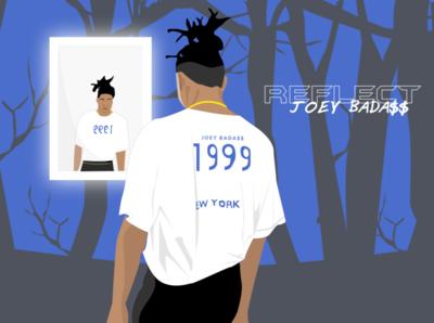 Joey Bada$$ 1999 illustration badass joey