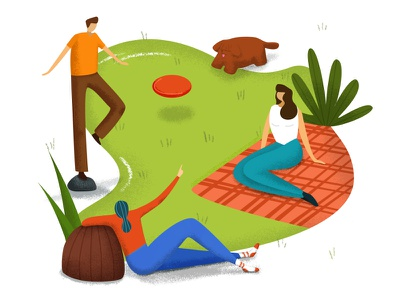 With friends leisure summer character sketch malipix people drawing illustration friends picnic vacation