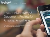 New logikcull.com is LIVE!