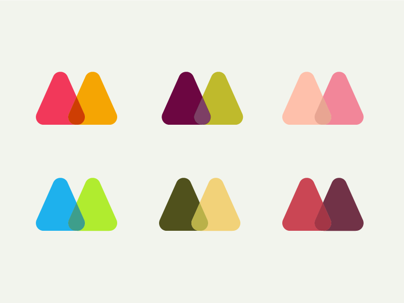 More Colour Combinations By Matt Hamm Dribbble