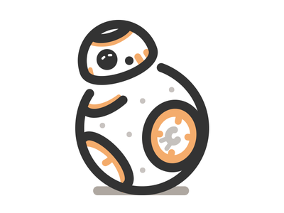 BB-8 icon awakens force droid icon wars star starwars bb-8