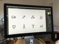 Designing a new icon set