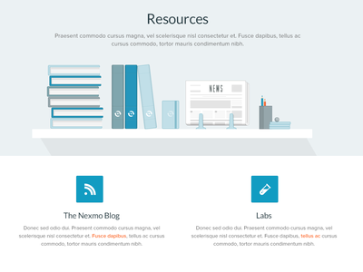 Resources Illustration icon typography ui illustration