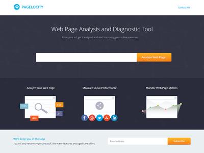 Pagelocity - Web App