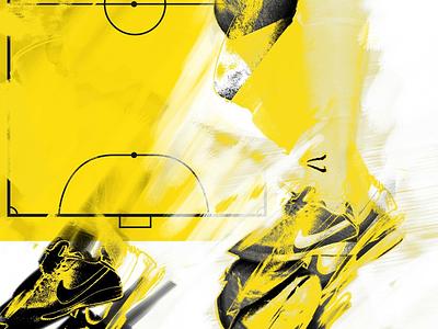 Futsal corredoura yellow football futsal