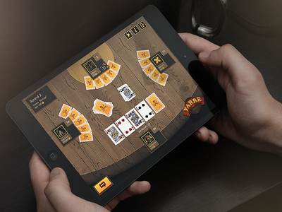 Tortuga - game preview ipad table pirate mobile game design cards ios android ui unity