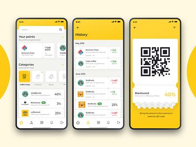 Earn rewards for shopping app qr points bonus rewards reward android mobile ios