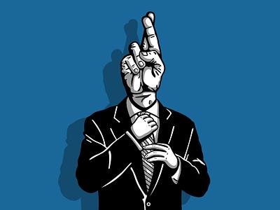 Modern Politicians illustration design