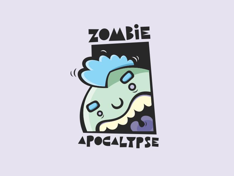 Zombie Apocalypse apocalypse zombie illustration design