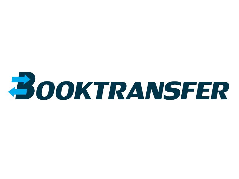 Booktransfer transfer logo design