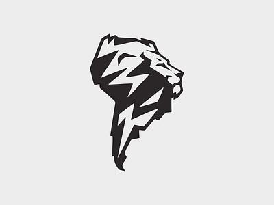 The King amazon south america king lion symbol illustration design