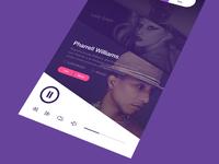Music Mobile Service UI
