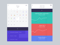 Monthly To do List App