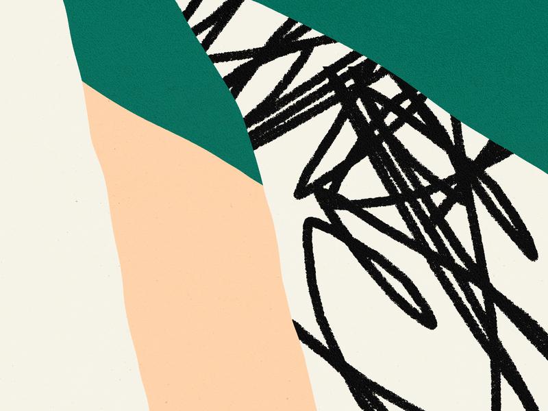 ✏️ bold color vector green design shapes illustration pattern shape texture