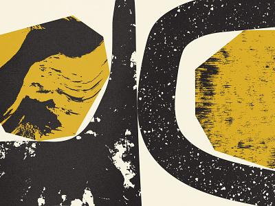 3222018 shape texture grit gold black
