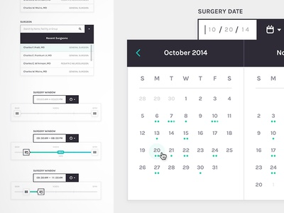 Medical Startup Components Style Guide
