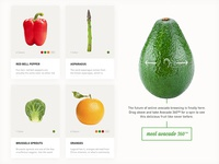 Fruits n' Veggies Product Page