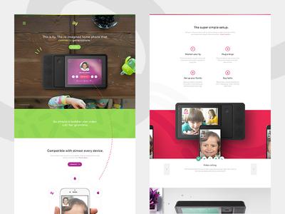 Ily Site Redesign