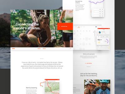 Strava Homepage Full Comp
