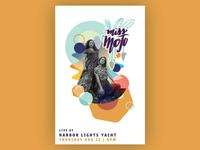 Miss Mojo Tour Poster