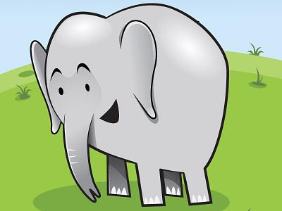 Ellie illustration cartoon vector