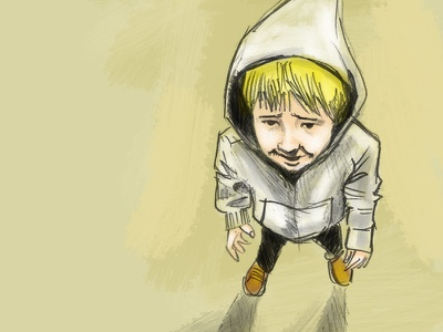 My Buddy digital painting illustration drawing sketch painting