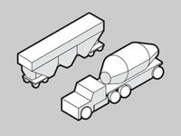 Trains and Trucks