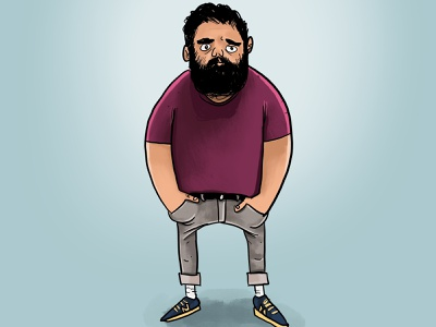 Rick procreate art procreate sketch drawing illustrator painting digital illustration digital art digital digital painting cartoon illustration
