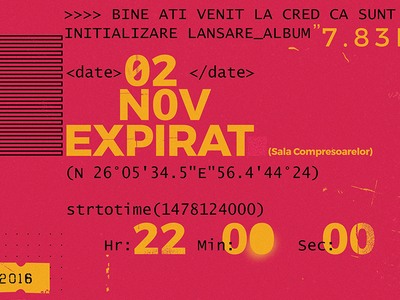 Type experiment text computer grungy typography design graphic