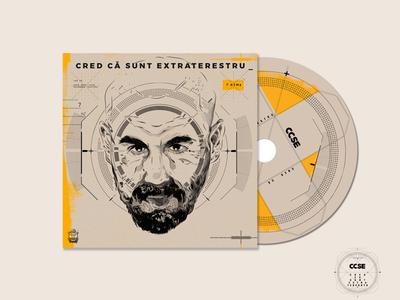 CD Cover cover album icon typography ccse logo