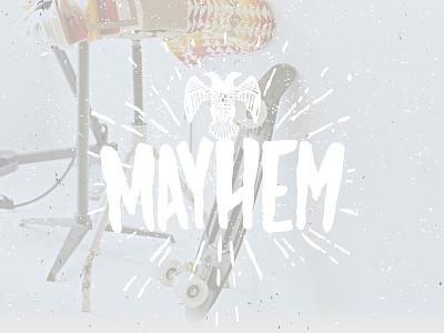 Mayhem - Free Font free typeface free mayhem mayhem font font