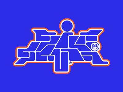 GILFGAVIN® typedesign type design icon y2k logos logo vector typography branding